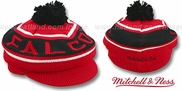 Falcons 'RERUN KNIT BEANIE' by Mitchell and Ness