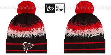 Falcons 'SPEC-BLEND' Knit Beanie Hat by New Era