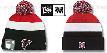 Falcons STADIUM Knit Beanie Hat by New Era