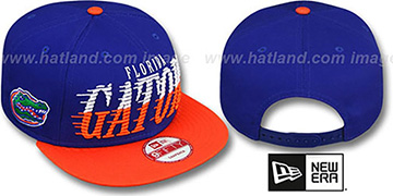 Florida SAILTIP SNAPBACK Royal-Orange Hat by New Era