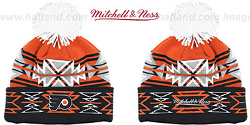 Flyers GEOTECH Knit Beanie by Mitchell and Ness