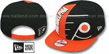 Flyers 'NE-NC DOUBLE COVERAGE SNAPBACK' Hat by New Era