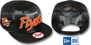 Flyers 'REDUX SNAPBACK' Black Hat by New Era