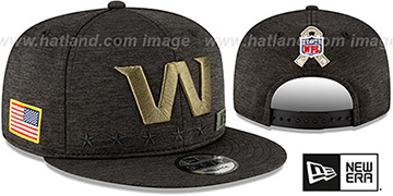 Football Team 2020 SALUTE-TO-SERVICE SNAPBACK ST Black Hat by New Era