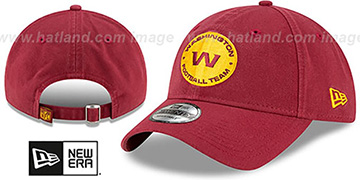 Football Team 'CORE-CLASSIC STRAPBACK' Burgundy Hat by New Era