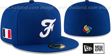 France PERFORMANCE WBC-2 Royal Hat by New Era
