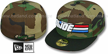 G. I. Joe 'SUB UNDER' Army-Black Fitted Hat by New Era