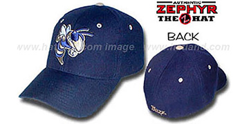 Georgia Tech DHS Fitted Hat by ZEPHYR - navy