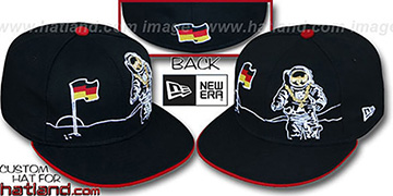 Germany 'MOONMAN' Black Fitted Hat by New Era