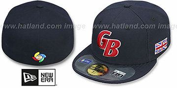 Great Britain PERFORMANCE WBC Navy Hat by New Era