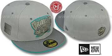 Grizzlies '2T HWC GREY-POP' Fitted Hat by New Era
