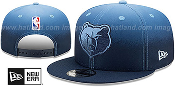 Grizzlies 'BACK HALF FADE SNAPBACK' Hat by New Era