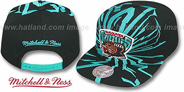 Grizzlies 'EARTHQUAKE SNAPBACK' Black Hat by Mitchell and Ness