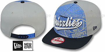 Grizzlies 'ESPN BRICK A-FRAME SNAPBACK' Hat by New Era