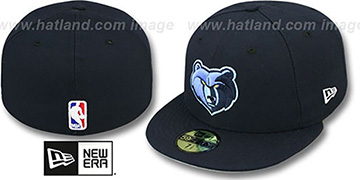 Grizzlies 'NBA-CHASE' Navy Fitted Hat by New Era