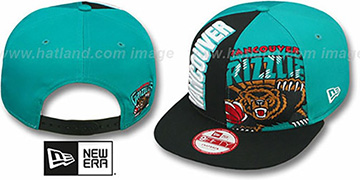 Grizzlies NE-NC DOUBLE COVERAGE SNAPBACK Hat by New Era