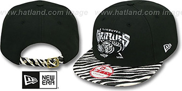 Grizzlies 'OSTRICH-ZEBRA STRAPBACK' Hat by New Era