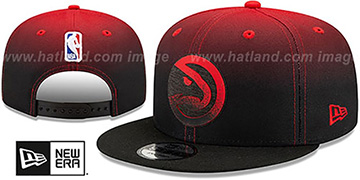 Hawks BACK HALF FADE SNAPBACK Hat by New Era