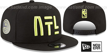 Hawks 'CITY-SERIES SNAPBACK' Black Hat by New Era