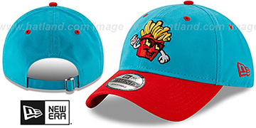 Hawks COPA STRAPBACK Teal-Red Hat by New Era