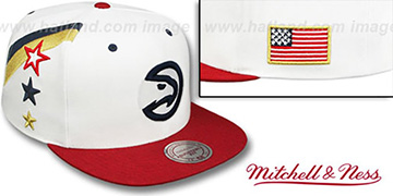 Hawks INDEPENDENCE SNAPBACK Hat by Mitchell and Ness
