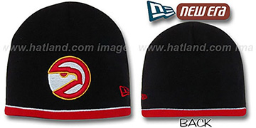 Hawks 'OLD SCHOOL TOQUE' Black Knit Hat by New Era