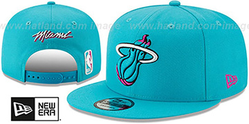 Heat 19-20 CITY-SERIES ALTERNATE SNAPBACK Blue Hat by New Era