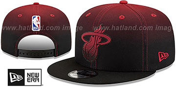 Heat 'BACK HALF FADE SNAPBACK' Hat by New Era