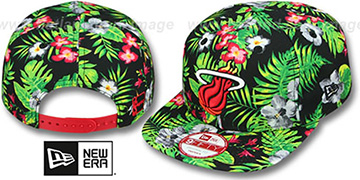 Heat BLOOM SNAPBACK Hat by New Era