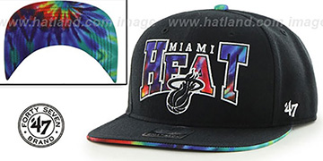 Heat 'CANNED-HEAT SNAPBACK' Black Hat by Twins 47 Brand