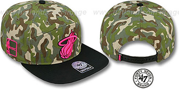 Heat 'CHENY CAMPER STRAPBACK' Hat by Twins 47 Brand