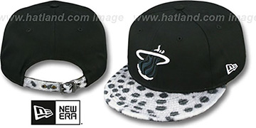 Heat DALMATION ANIMALISTIC-FUR VIZA STRAPBACK Hat by New Era