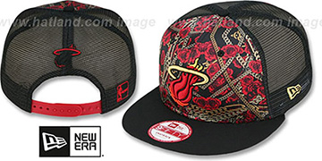 Heat 'FLORAL CHAIN SNAPBACK' Hat by New Era