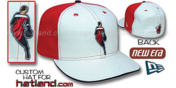 Heat INSIDER PINWHEEL White-Red Fitted Hat by New Era