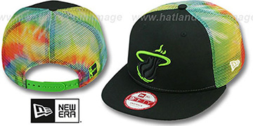 Heat 'MESH TYE-DYE SNAPBACK' Hat by New Era