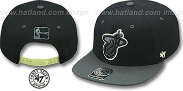 Heat NIGHT-MOVE SNAPBACK Adjustable Hat by Twins 47 Brand