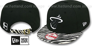Heat 'OSTRICH-ZEBRA STRAPBACK' Hat by New Era