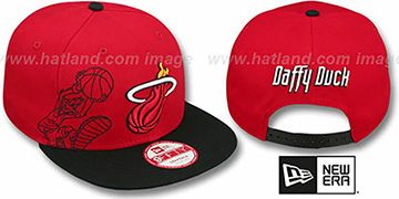 Heat 'SIDE-TEAM' DAFFY DUCK SNAPBACK Hat by New Era