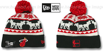 Heat THE-MOOSER Knit Beanie Hat by New Era