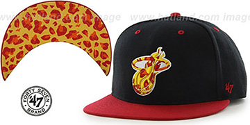 Heat THE-PLAINS LEOPARD SNAPBACK Hat by Twins 47 Brand