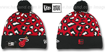 Heat WINTER-JUNGLE Knit Beanie Hat by New Era