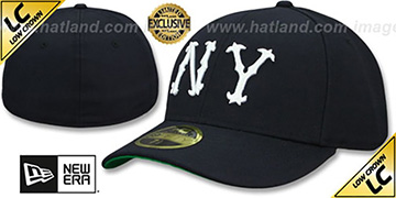 Highlanders LOW-CROWN 1903 COOPERSTOWN Fitted Hat by New Era