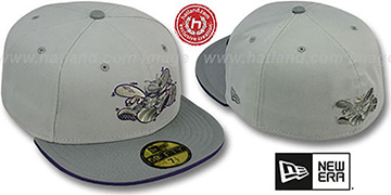 Hornets '2T HWC GREY-POP' Fitted Hat by New Era