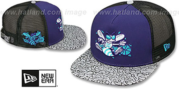 Hornets 'ELEPHANT-HOOK STRAPBACK' Hat by New Era