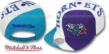 Hornets 'TWIRL SNAPBACK' Hat by Mitchell & Ness