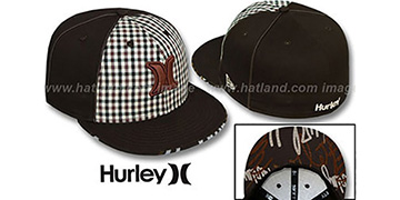 Hurley 'ROYALTY' Brown Fitted Hat by New Era
