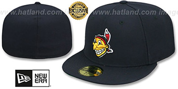 Indians '1947-50 COOPERSTOWN' Fitted Hat by New Era