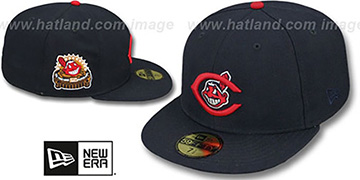 Indians 1954 'SIDE ALL-STAR-PATCH' Fitted Hat by New Era