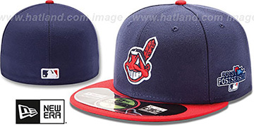 Indians 2013 POSTSEASON HOME Hat by New Era