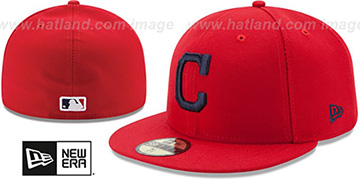 Indians 'AC-ONFIELD ALTERNATE' Hat by New Era